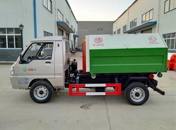 凱馬3方勾臂式垃圾(凱馬3方車廂可卸式垃圾車)_高清圖片