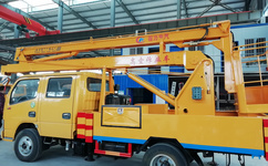 聚力专汽高空作业车生产流程