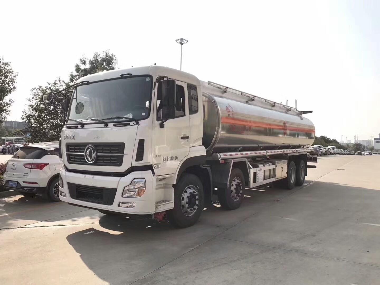 東風天龍前四后八27.6方運油車
