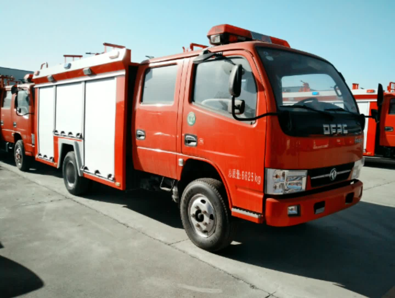 东风凯普特k6水罐消防车视频