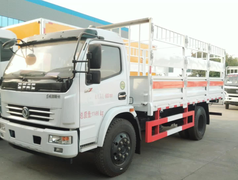东风多利卡d7气瓶运输车视频