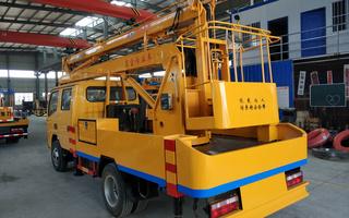 东风12米单排高空作业车图片