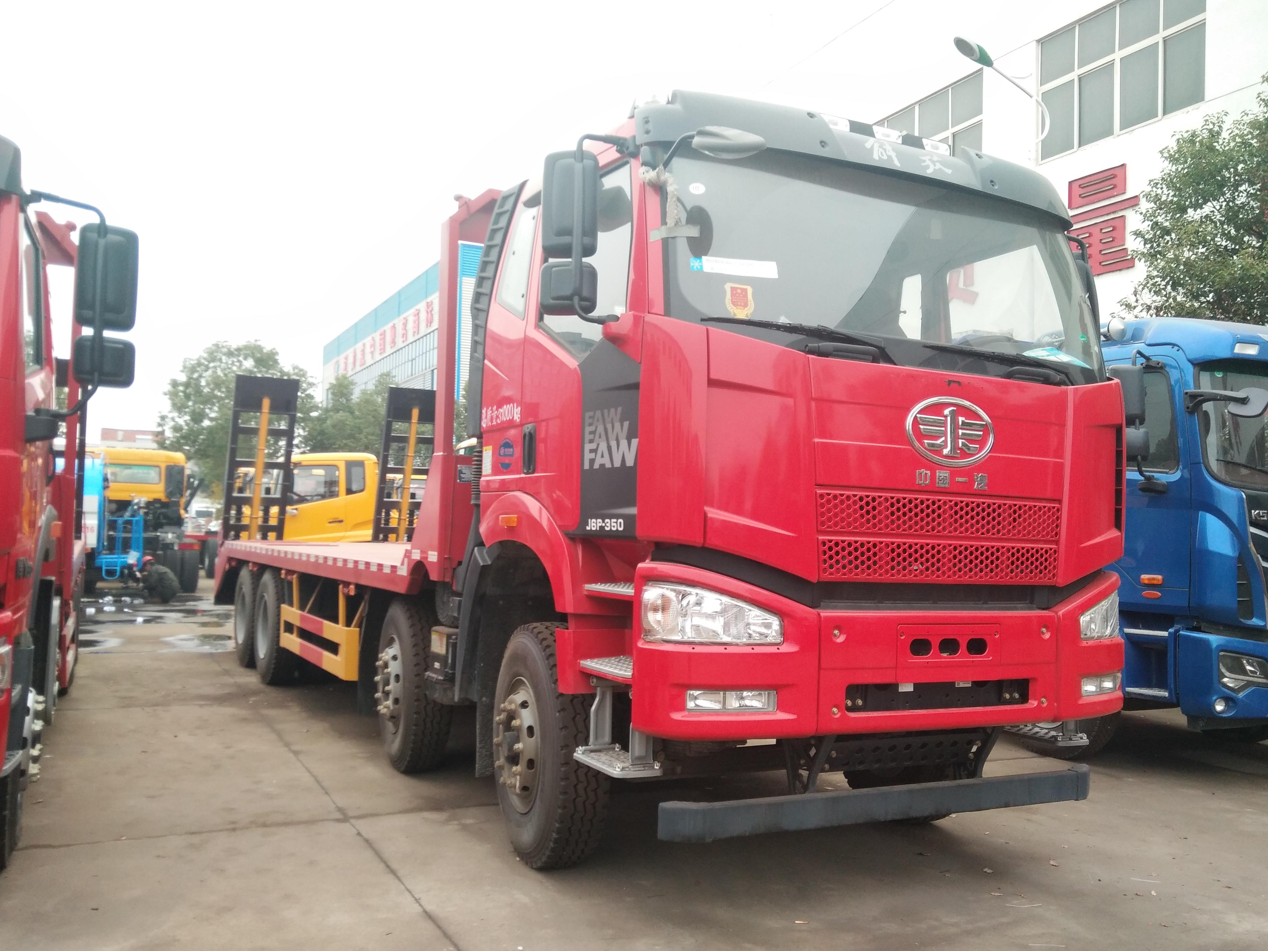 中国一汽解放J6P-350平板车图片