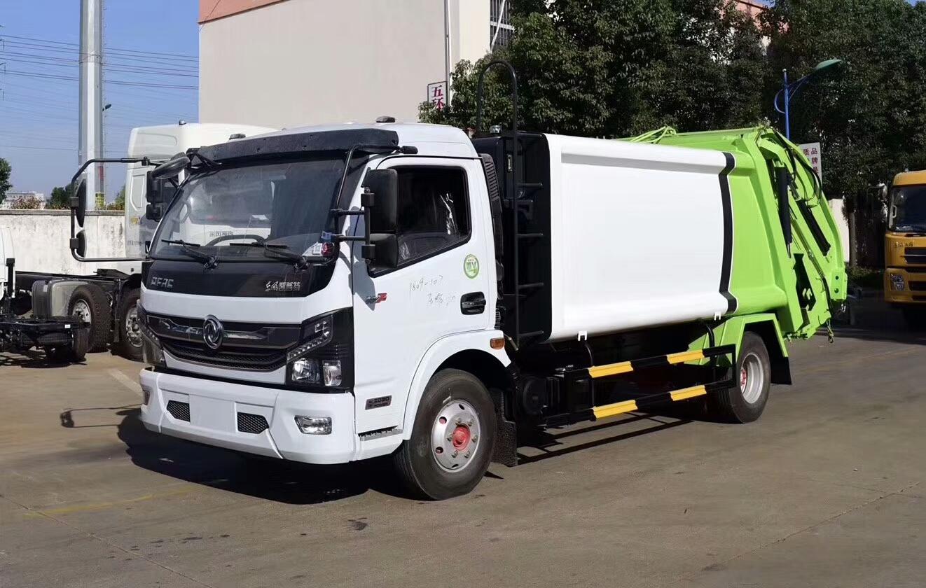 东风10吨压垃圾垃圾车价格多少钱?视频