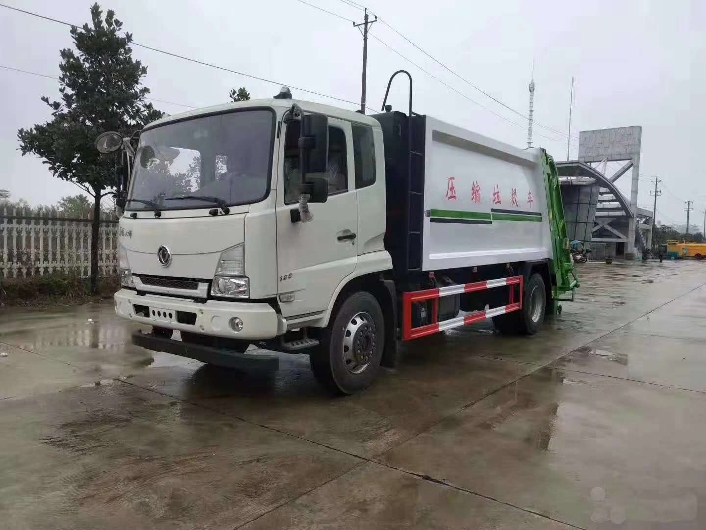 东风天锦压缩垃圾车图片