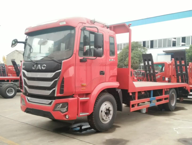 江淮格尔发K5平板车(红色)