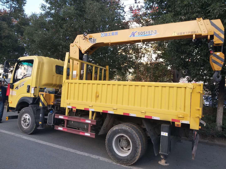 重汽王牌徐工6.3吨随车吊图片