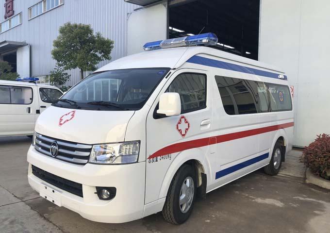 國六福田風景救護車廠家圖片
