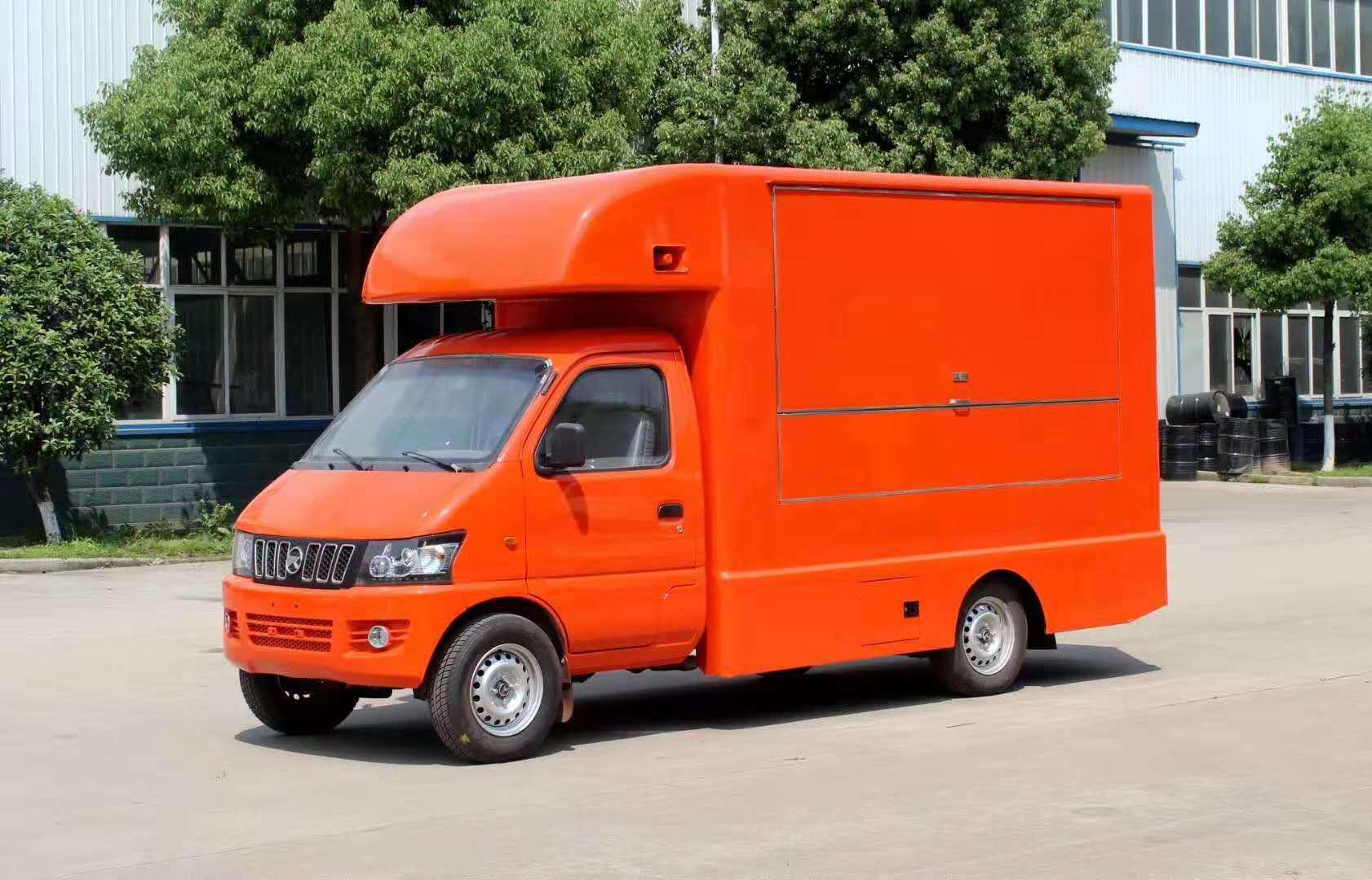 全新国五小型售货车四万八千元,买到就是赚到图片