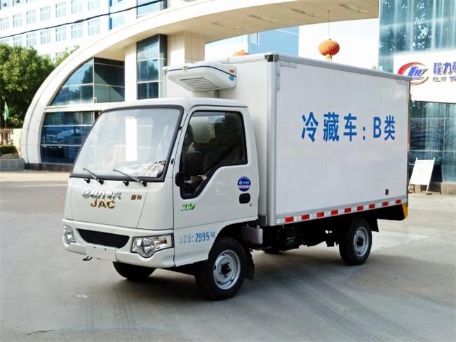 江淮康鈴國五3.1米冷藏車