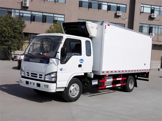 庆铃五十铃600P国五4.6米冷藏车