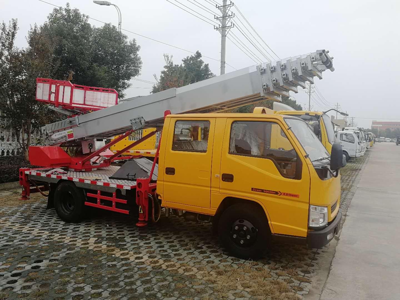 江铃28米云梯车_高空作业云梯车细节图片图片