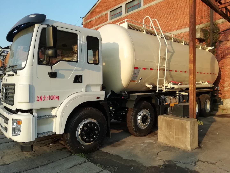 东风前四后八轻量化散装水泥车厂家价格仅需33.8万
