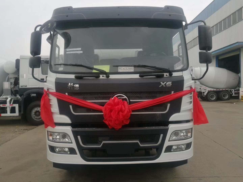 深圳地区陕汽轻量化搅拌车厂家价格仅需33.8万