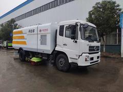 东风天锦高端纯吸式干扫车
