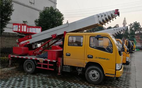 东风多利卡28米高空作业搬运车视频_搬运车