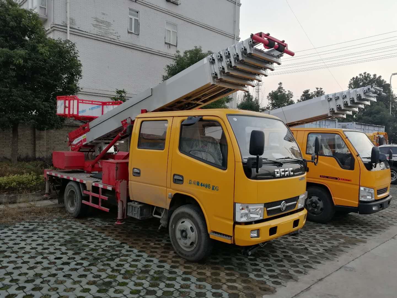 东风多利卡28米高空云梯车_云梯车图片