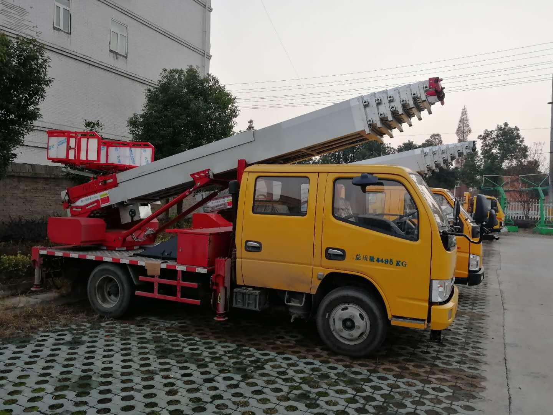 东风多利卡28米高空作业搬运车SCS5041JGKEQ图片