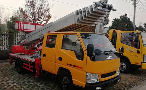 江铃28米高空运输车厂家视频_28米高空运输车