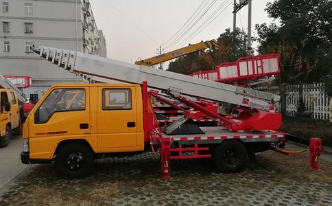 云梯搬家车视频_28米云梯搬家车厂家