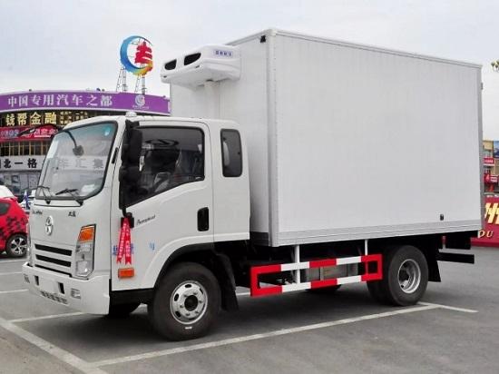 大运排半3.75米冷藏车