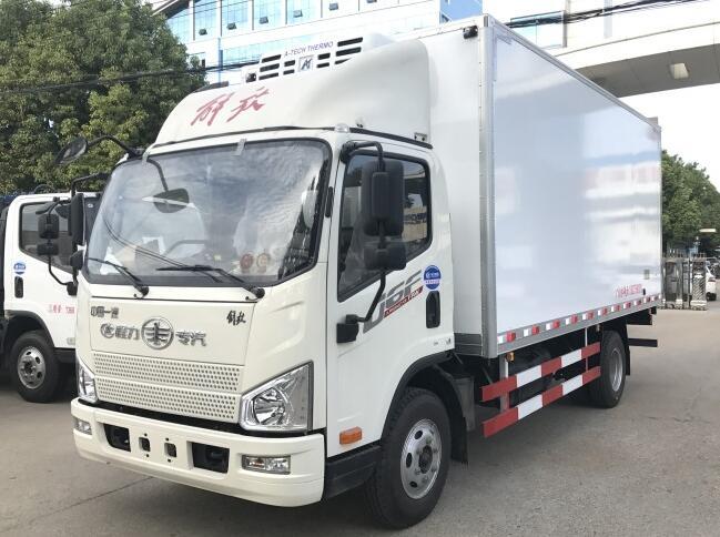解放J6F(5.2米)冷藏车图片