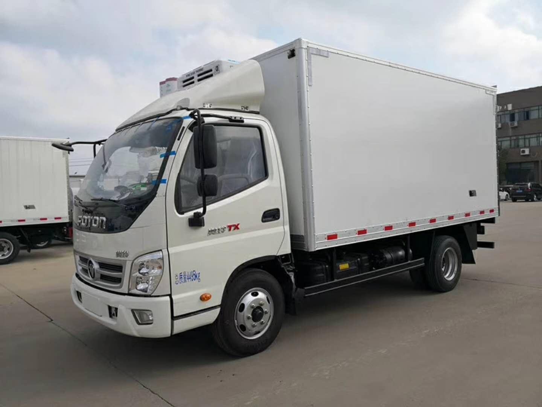 福田欧马可4米1冷藏车(国5)