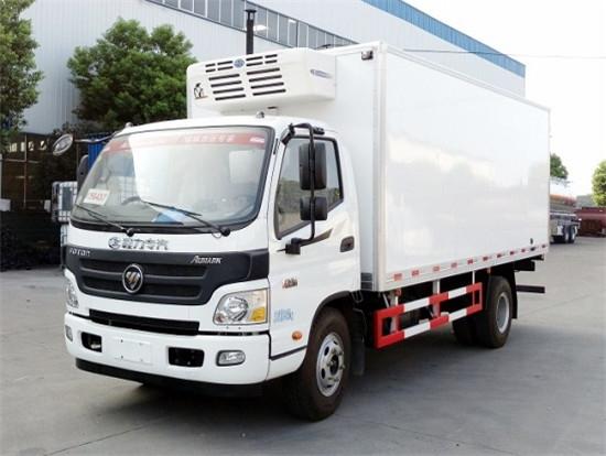 福田欧马可5.2米冷藏车