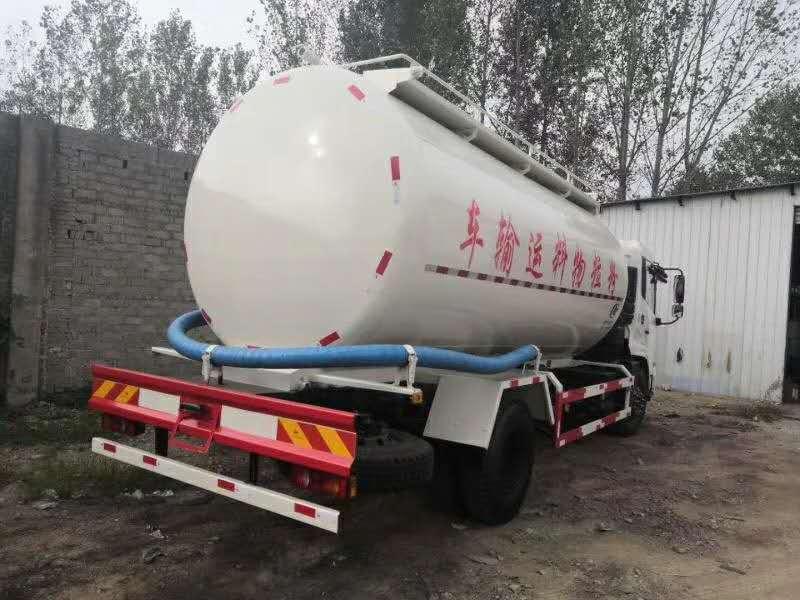 东风天锦粉粒物料运输车图片