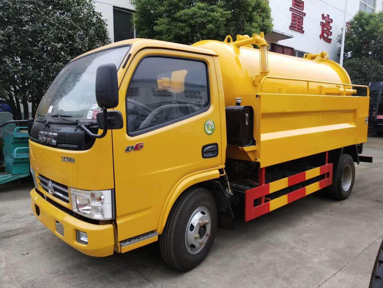 东风多利卡联合疏通车高压清洗吸污车价格,一车两用,功能齐全
