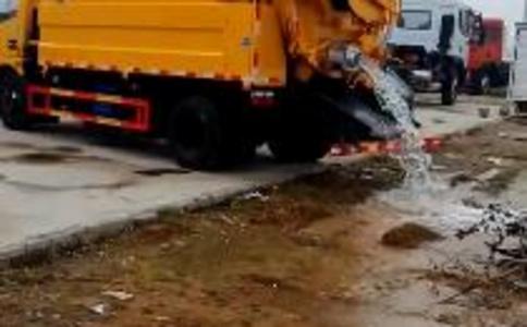 清洗吸污车工作视频