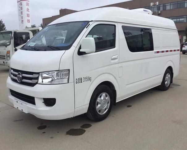 福田风景G7预苗运输冷藏车(五座)图片