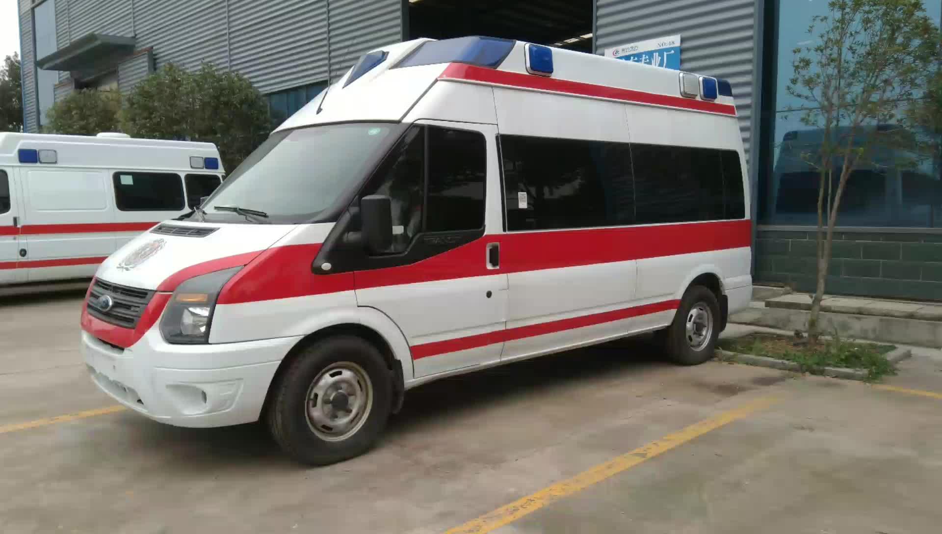 福特医疗救护车视频