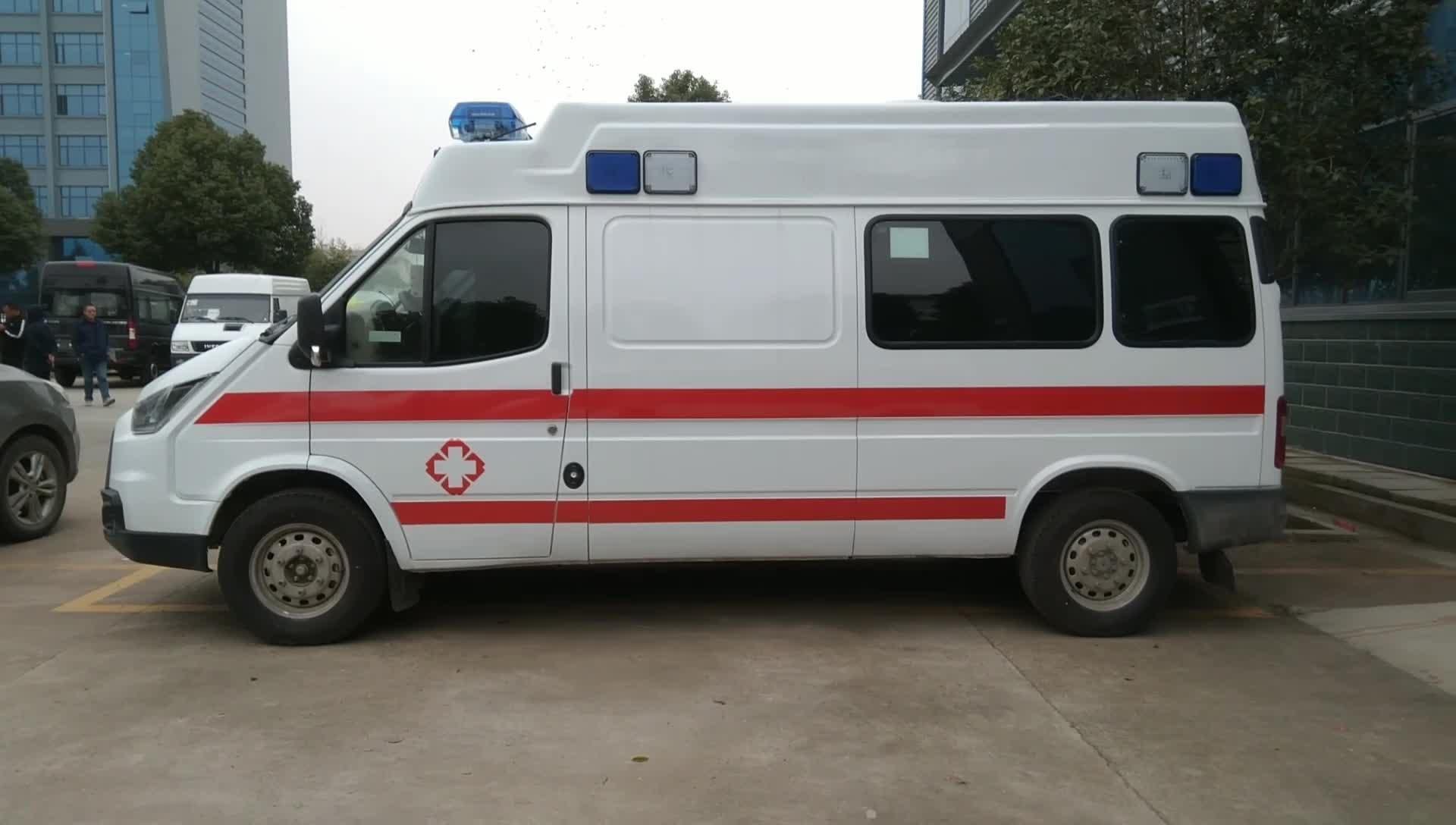 江铃顺达医疗救护车视频