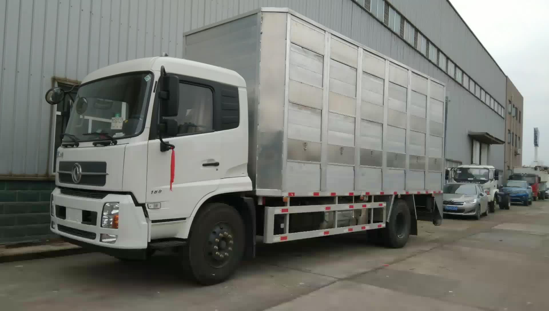 东风天锦畜牧车视频
