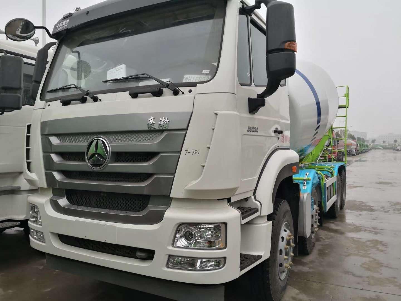 重汽12方轻量化水泥搅拌车厂家价格36.5万