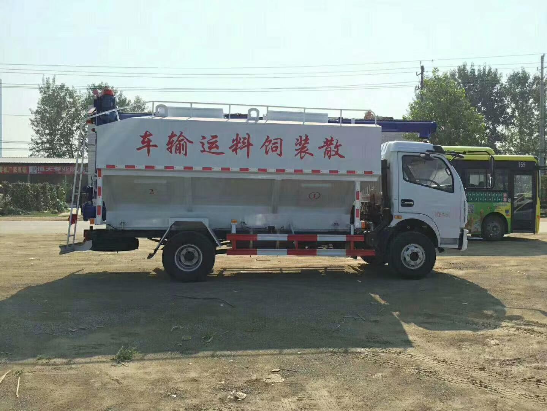 8吨(16方)散装饲料运输车图片