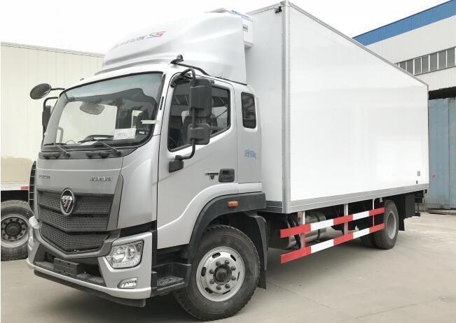 福田S5厢长6.6米冷藏车