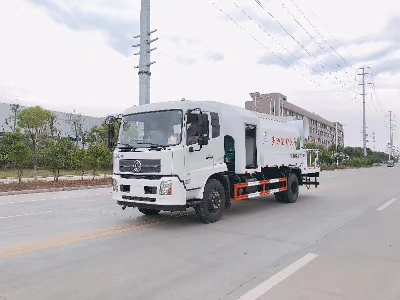 东风天锦10方水罐 10吨雾炮车图片