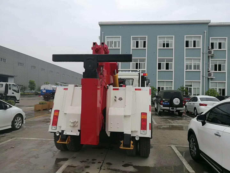 13吨重型解放托吊联体清障车