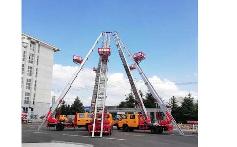 搬家云梯车操作视频_润知星牌28米下集视频