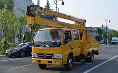 12-24米车载式折臂高空作业车
