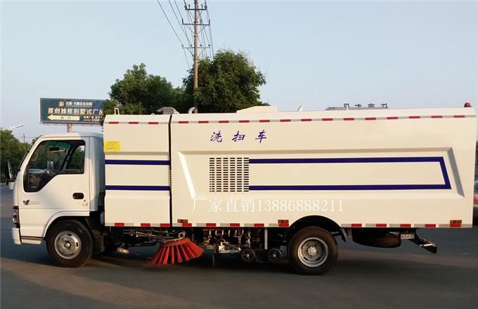 庆铃五十铃5吨洗扫车3(1)