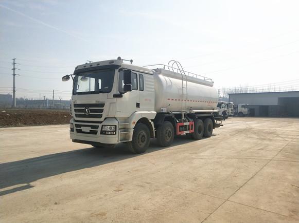 陕汽德龙28方干混砂浆运输车