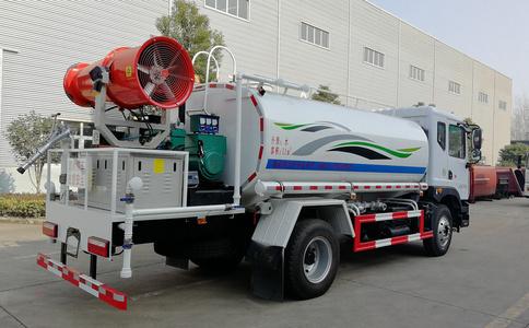 大多利卡12方绿化喷洒车带农药喷洒机装置