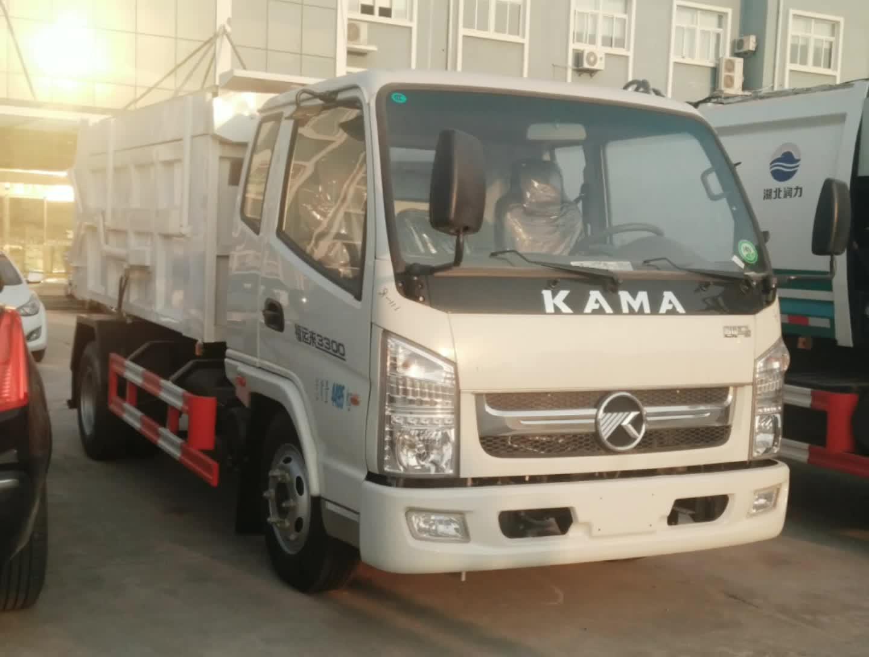 凯马对接垃圾车
