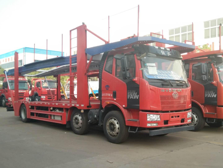 中国一汽解放轿运车图片
