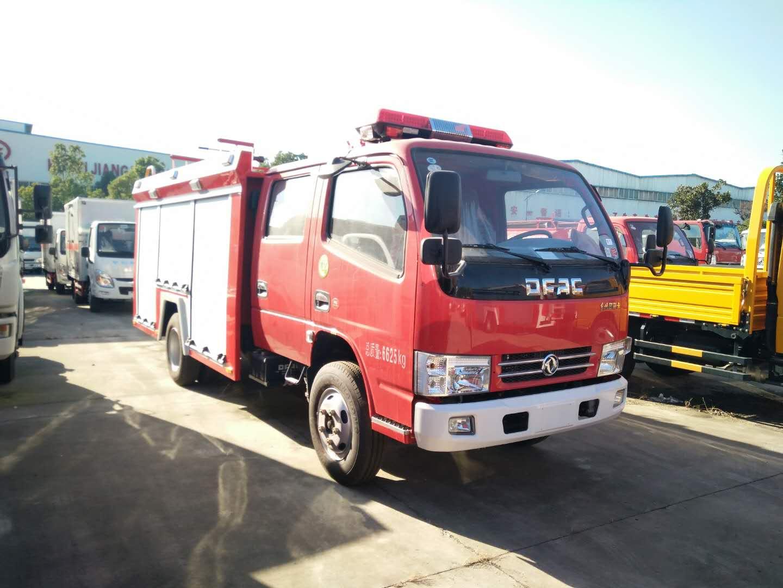 东风多利卡d6水罐消防车图片