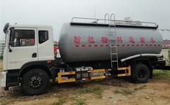 扬州市东风小型16方粉粒物料车  18方散装水泥车厂家  干混砂浆车价格