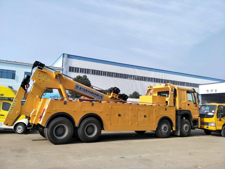 30-40吨重汽清障车厂家直销价格